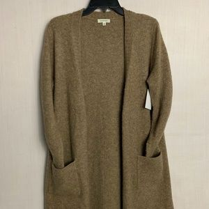 NWT Max Studio Oatmeal Long Cardigan Sweater